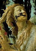 La Primavera, Allegory of Spring (detail) Botticelli