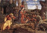 The Adoration of the Shepherds sf MANTEGNA, Andrea