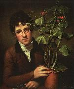 Rubens Peale with Geranium Rembrandt Peale