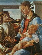 Madonna and Child with an Angel Botticelli