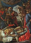 The Discovery of the Body of Holofernes Botticelli