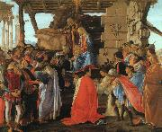 The Adoration of the Magi Botticelli