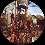 The adoration of the Konige Botticelli