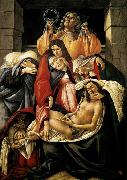 Lamentation over the Dead Christ Botticelli
