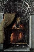 St Augustine in His Cell Botticelli