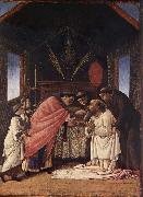 Last Communion of St.Jerome Botticelli