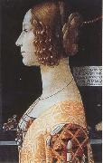 Domenico Ghirlandaio,Portrait of Giovanna Tornabuoni Botticelli