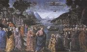Domenico Ghirlandaio,The Calling of the first Apostles,Peter and Andrew Botticelli