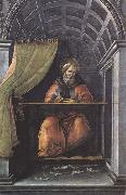 St Augustine in his Study Botticelli