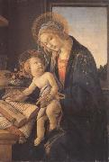 Madonna and child or Madonna of the book Botticelli