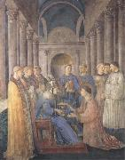 Fra Angelico,Ordination of St Lawrence Botticelli