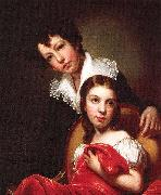 Michaelangelo and Emma Clara Peale Rembrandt Peale