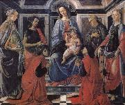 Son with the people of Our Lady of Latter-day Saints Botticelli