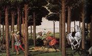 Follow up sections of the story Botticelli