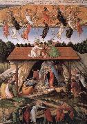 The birth of Christ Botticelli