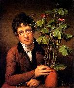 Rubens Peale with a Geranium Rembrandt Peale