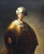 Man in Oriental Costume Rembrandt Peale