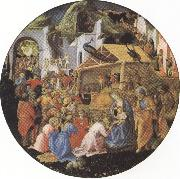 filippo lippi,Adoration of the Magi (mk36) Botticelli