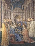 Fra Angelico,Ordination of St Lawrence (mk36) Botticelli
