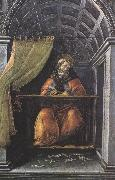 St Augustine in his Study (mk36) Botticelli