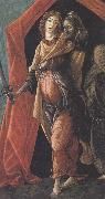 Judith with the Head of Holofernes (mk36) Botticelli