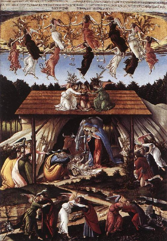 BOTTICELLI, Sandro Mystical Nativity fg