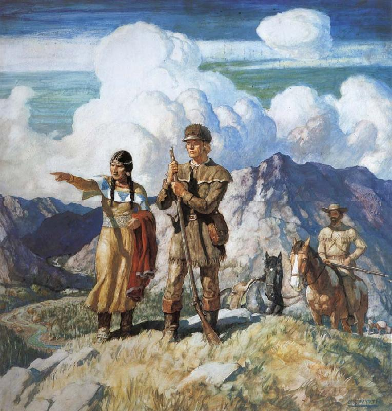 NC Wyeth Lewis and Clark