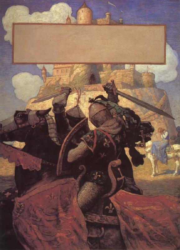 NC Wyeth The Boy-s King Arthur