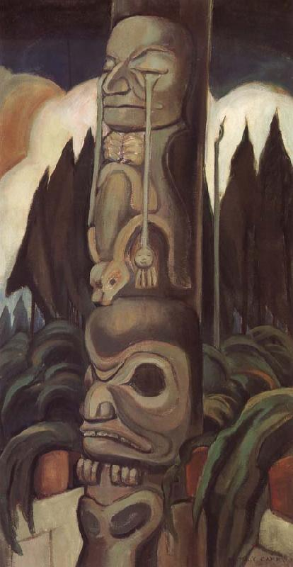 Emily Carr The Crying Totem
