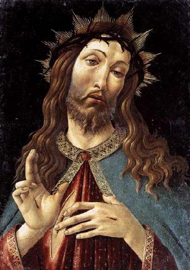 BOTTICELLI, Sandro Christ Crowned with Thorns