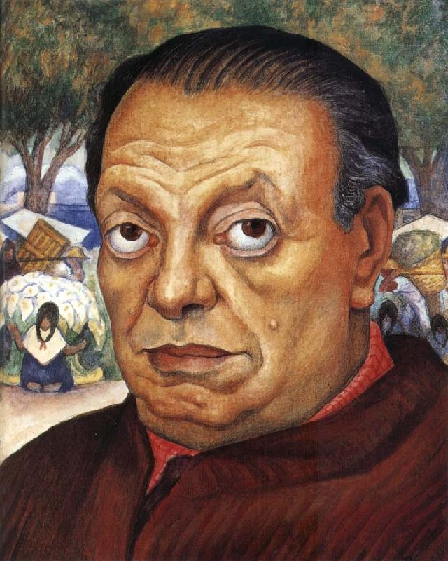 Diego Rivera Self-Portrait