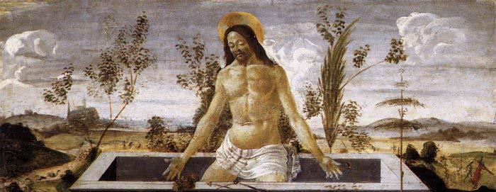 Sandro Botticelli Christ in the Sepulchre