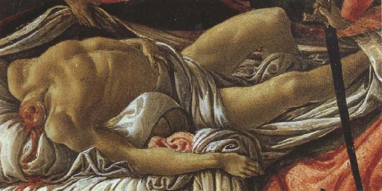 Sandro Botticelli Discovery of the body of Holofernes
