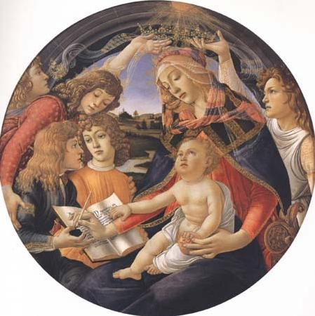 Sandro Botticelli Madonna of the Magnificat