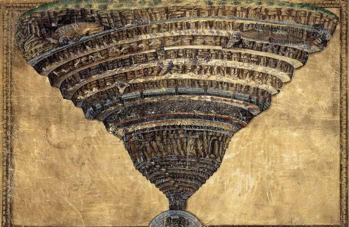 BOTTICELLI, Sandro The Abyss of Hell