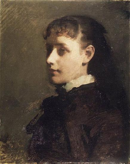 While in his teens Thayer achieved some success doing portraits of family ...