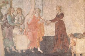 Sandro Botticelli A Young Woman Receives Gifts from Venus and the Three Graces (mk05)